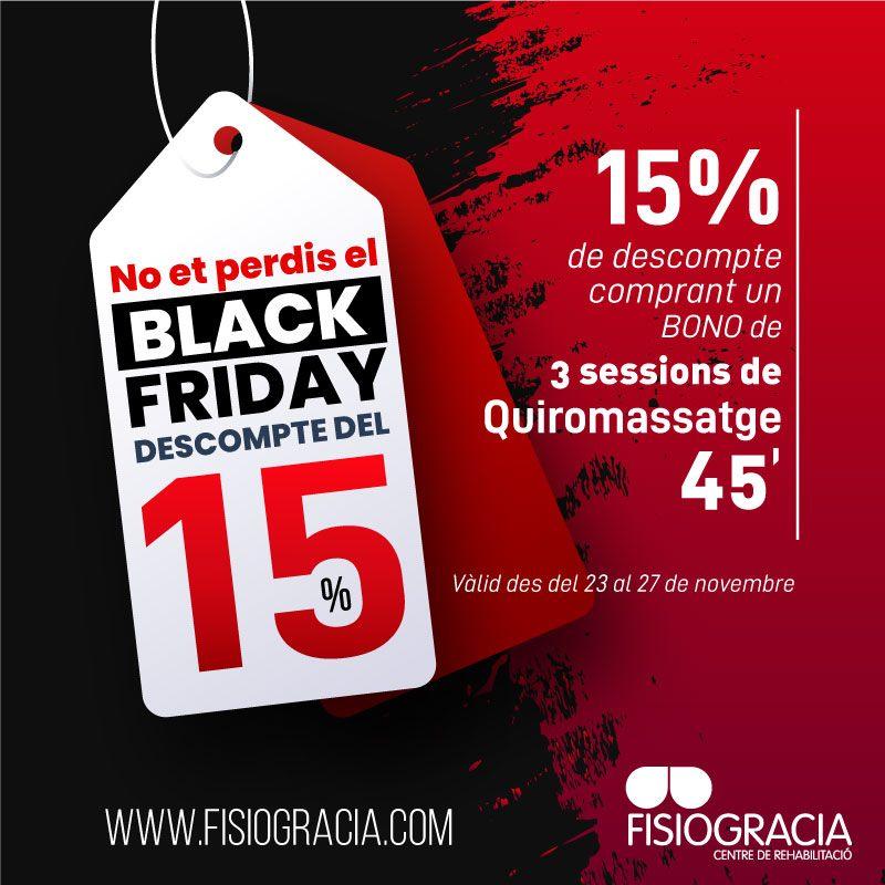 Black Friday - Fisiogracia
